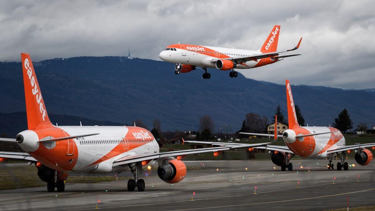 Tous les avions d'easyJet au Royaume-Uni et en Europe sont cloués au sol depuis ce lundi.