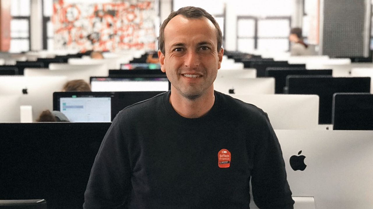 Rémy Challe, président de l'association EdTech France, estime qu'«il n'y a pas d'effet d'aubaine».