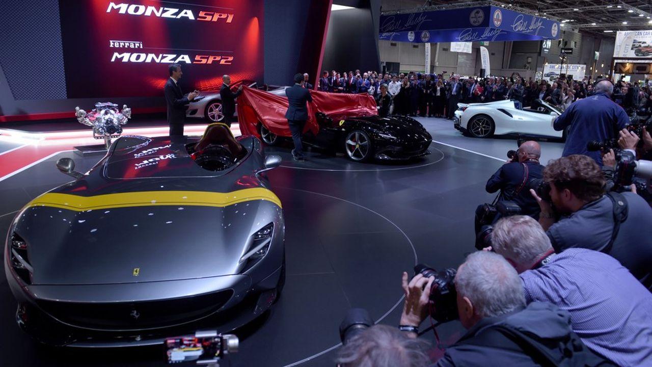 Si Ferrari avaitrépondu présent, le Mondial de l'auto 2018 avait dû composer avec les absences de Nissan, Volkswagen, Fiat, Volvo, Opel ou encore Ford.
