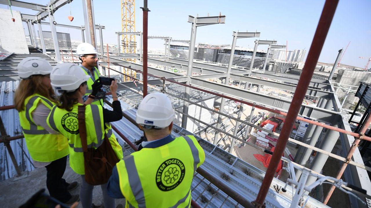 Le chantier de L'Expo 2020 Dubai à l'arrêt désormais