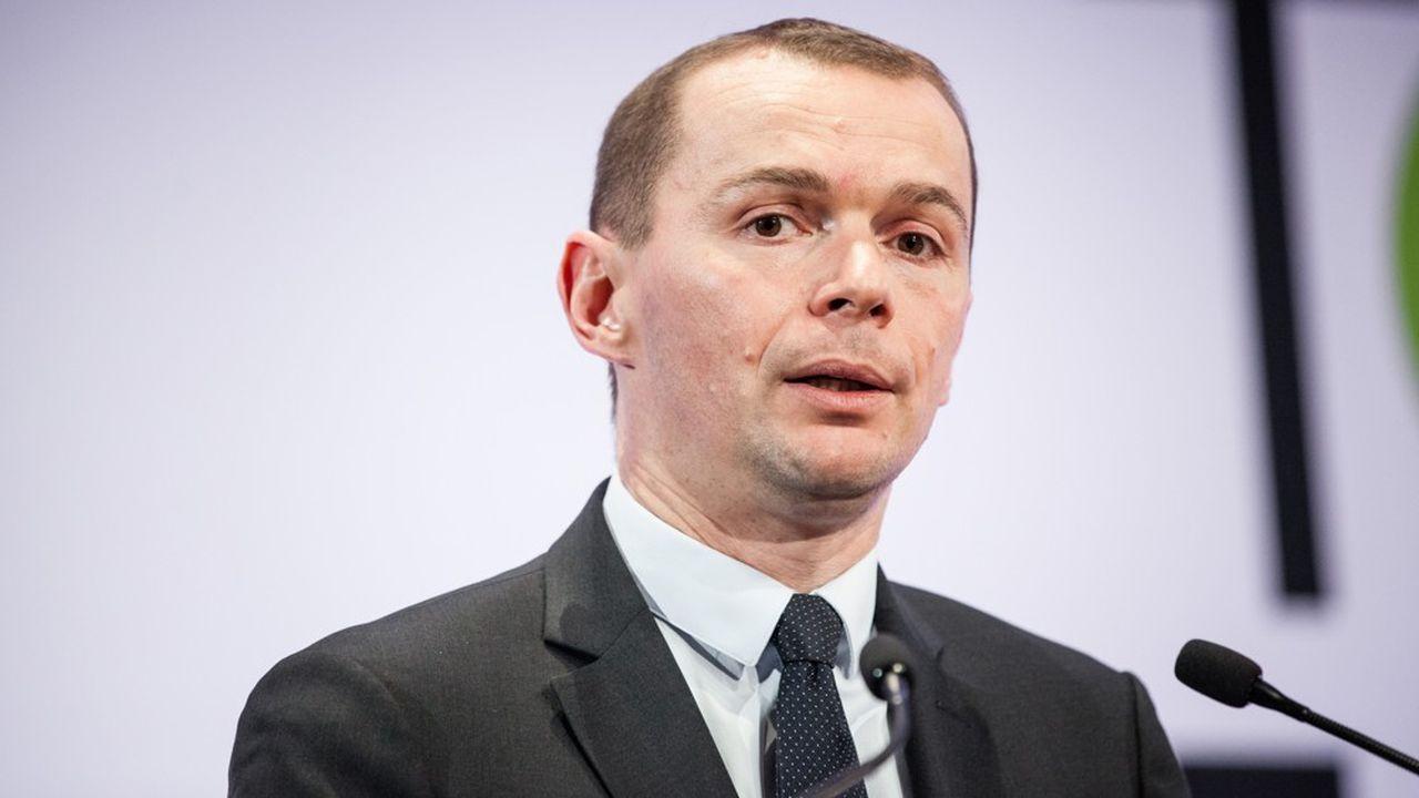 Olivier DUssopt, secrétaire d'Etat à la Fonction publique.