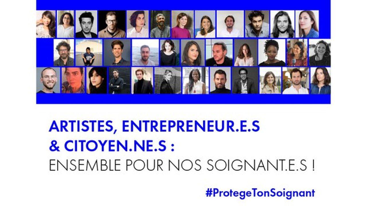 Entrepreneurs de la French Tech et artistes se sont mobilisés autour du collectif Protège ton soignant pour acheter du matériel médical destiné aux hôpitaux en flux tendu pour évoluer avec leurs besoins.