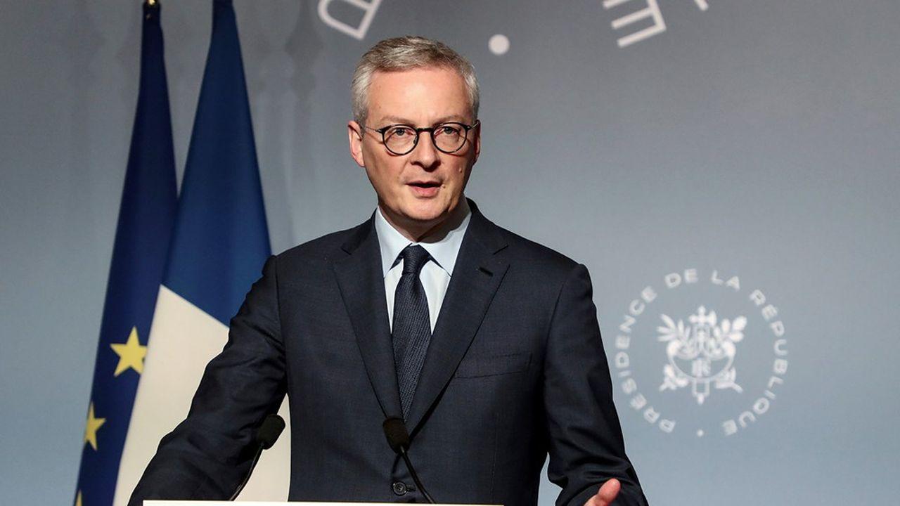 «Cela prouve que le premier problème des entreprises françaises était un problème de trésorerie», a-t-il déclaré sur Radio Classique.