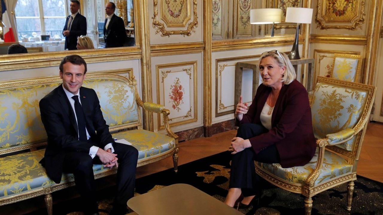 Marine Le Pen n'est pas sur la ligne «d'union nationale» prônée par Emmanuel Macron pour lutter contre l'épidémie de coronavirus (photo d'archives datant de février2019).