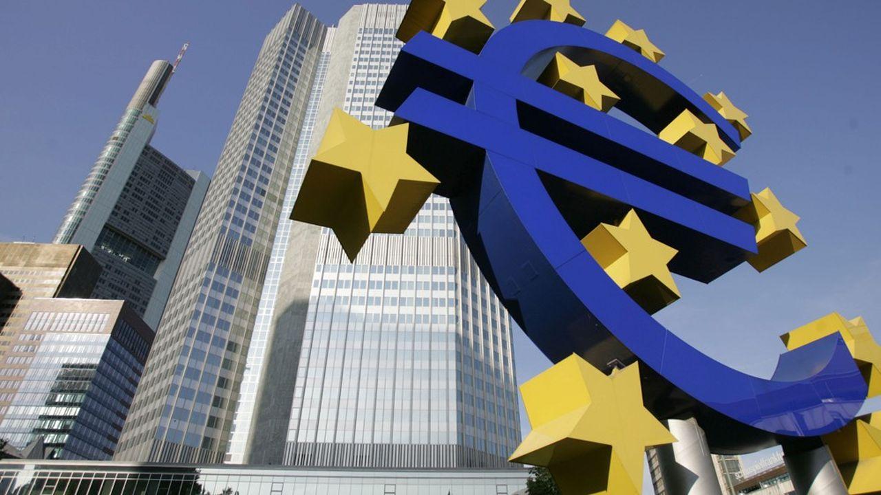 La Banque centrale européenne (BCE) supervise en direct les principales banques de la zone euro.