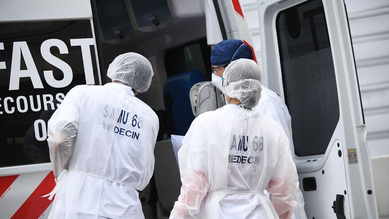 Mulhouse : transfert de patients vers d'autres hôpitaux en France et en Allemagne.