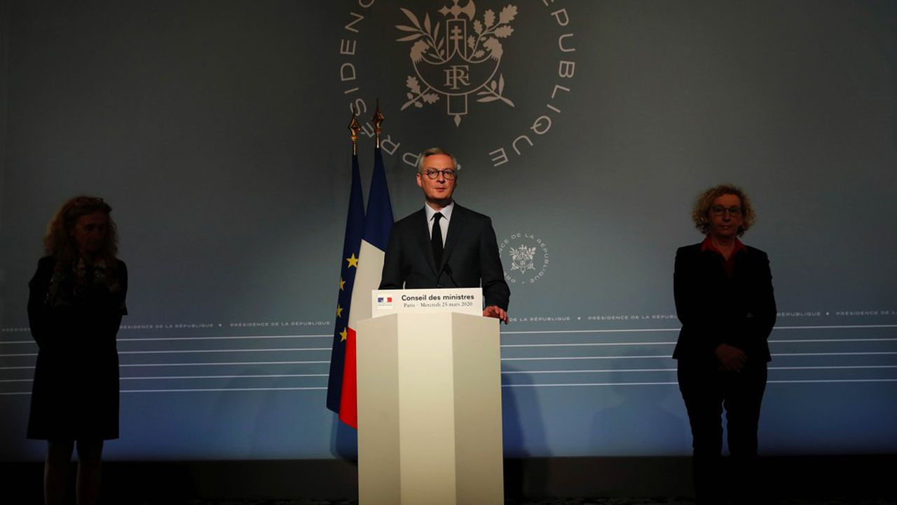Le ministre des Finances, Bruno Le Maire, a appelé à la «modération» sur le versement des dividendes.