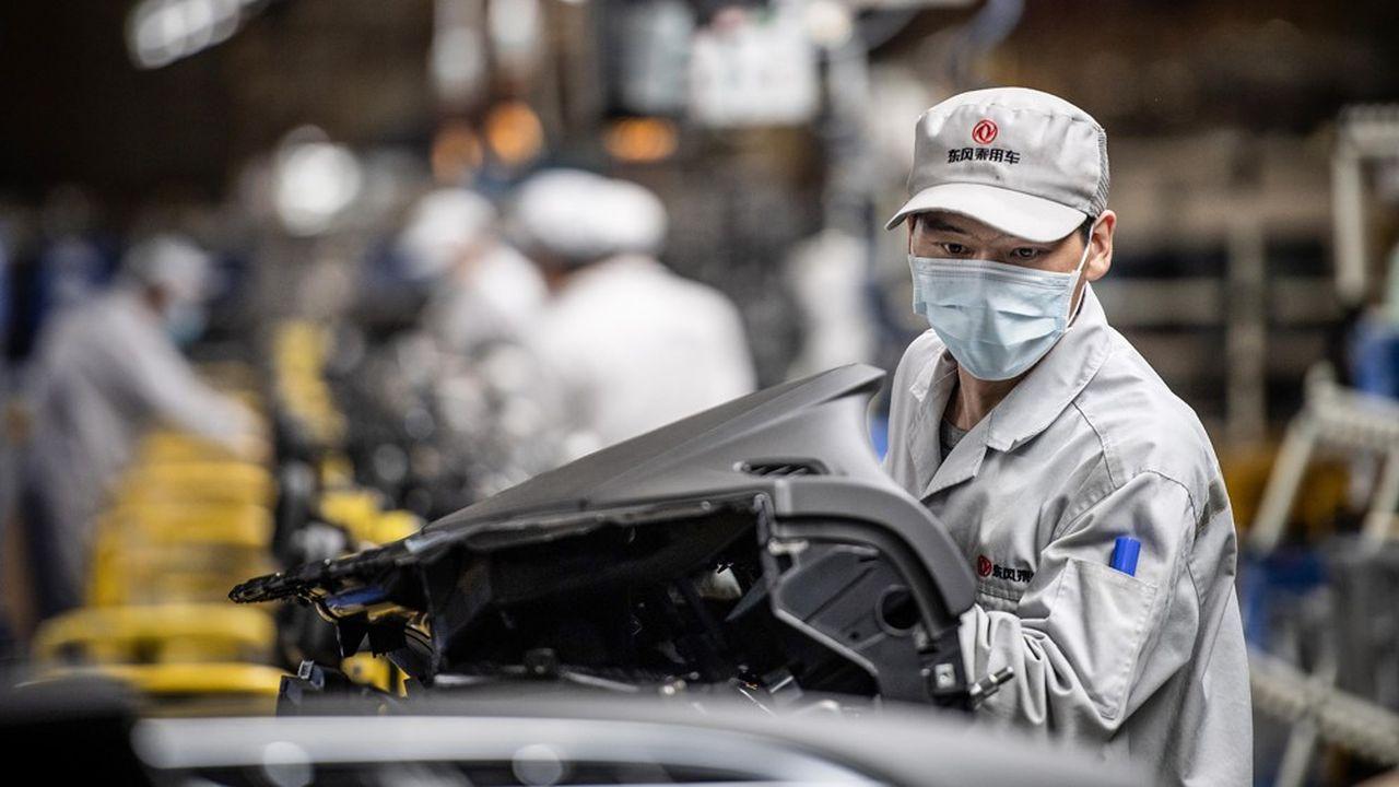 Les chiffres publiés pour janvier et février témoignent d'un arrêt brutal de la production en Chine et d'un effondrement de la demande.