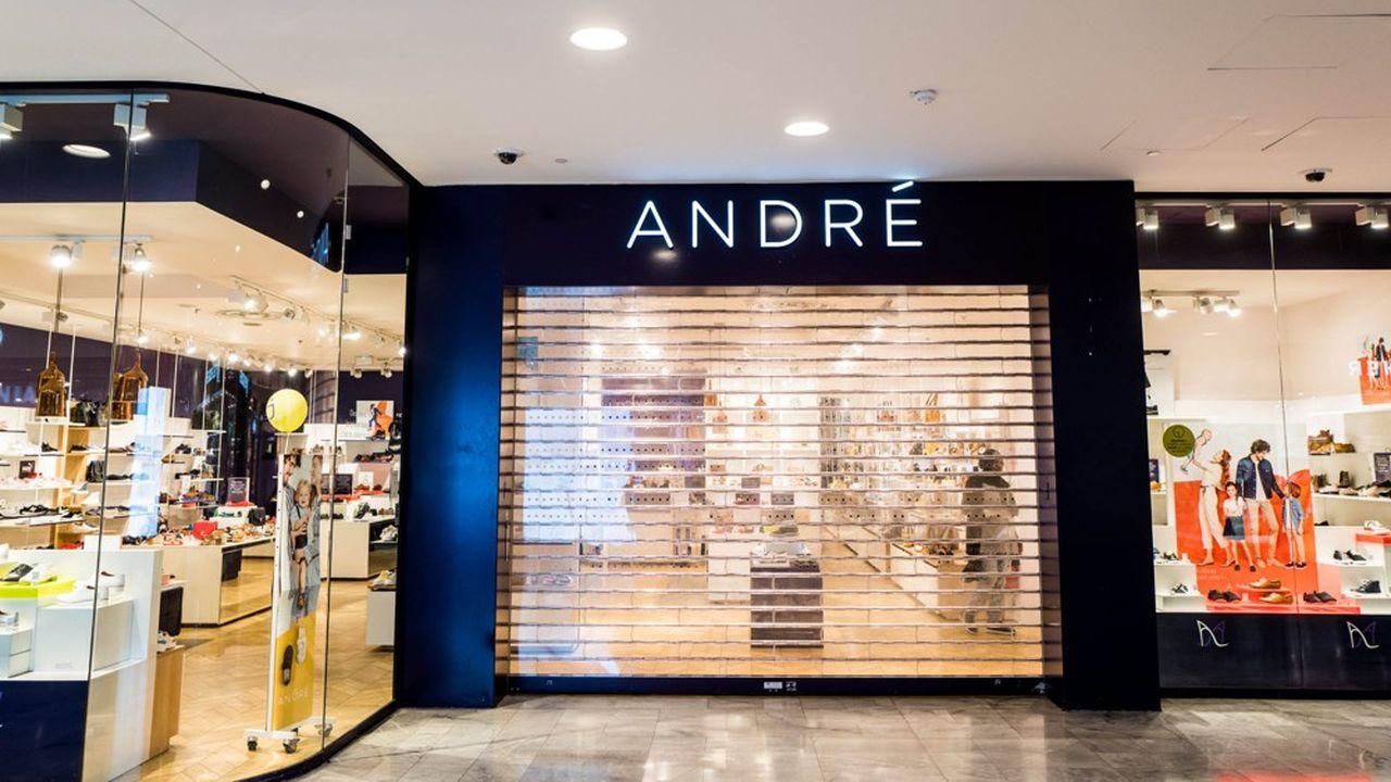 André a été vendu il y a deux ans par Vivarte au site de vente de chaussures en ligne Spartoo.