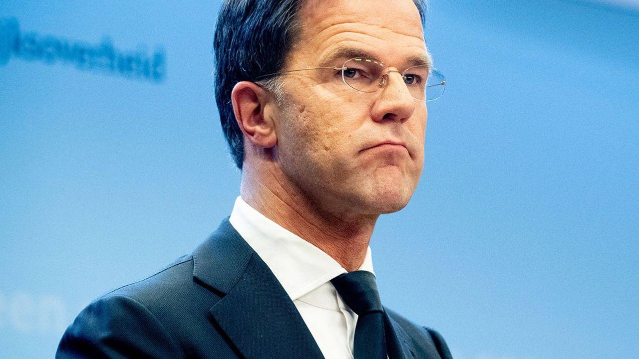 Le Premier ministre néerlandais, Mark Rutte, est l'un des dirigeants européens les plusréticents à l'idée d'une dette commune.