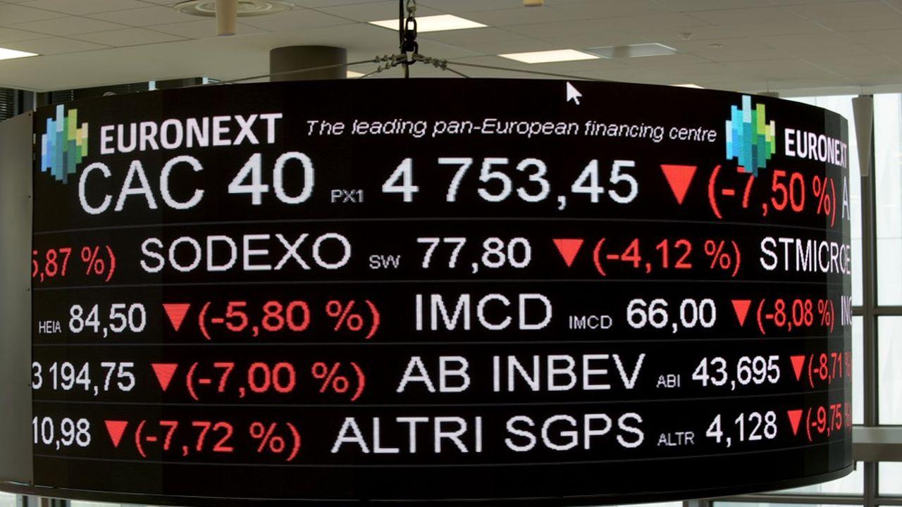 Les places européennes ont entamé hier la première séance du deuxième trimestre dans le rouge, l'indice européen Stoxx 600 de 3%.