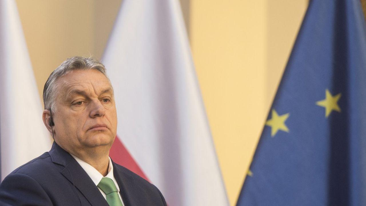 Le Premier ministre hongroisViktor Orbán.