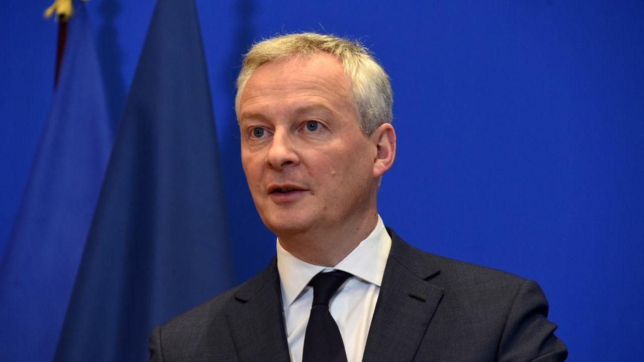 Le ministre de l'économie et des finances Bruno Le Maire pousse l'idée d'un fonds européen consacré à la reprise économique après la pandémie.