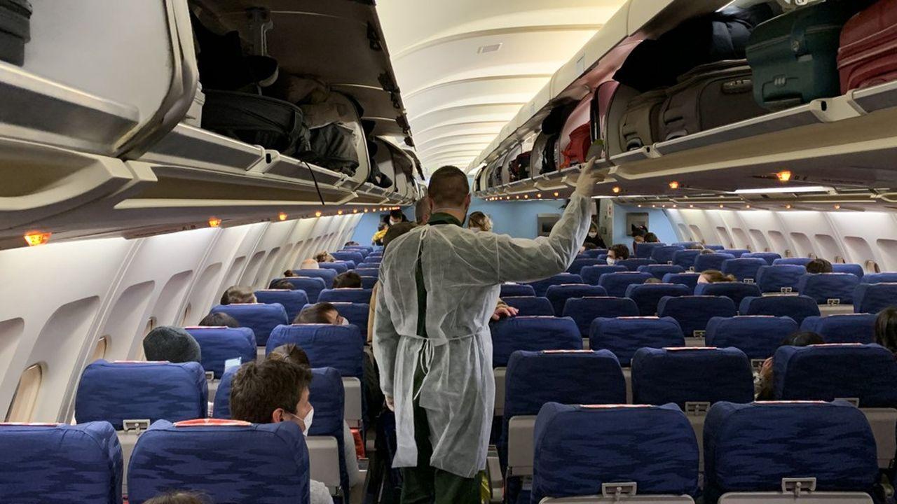 Fin janvier, les vols rapatriant les Français de Wuhan ont été affrétés par International SOS.