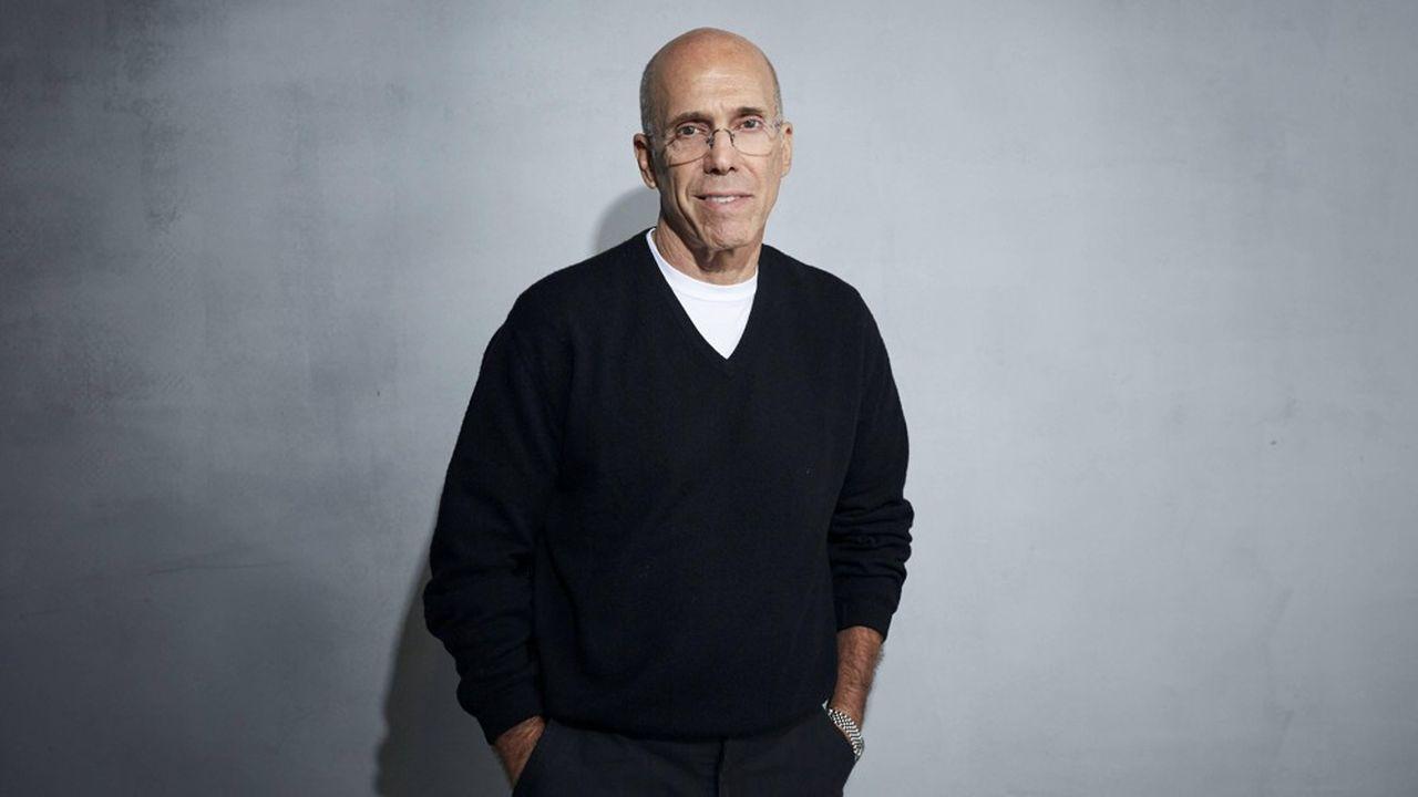Jeffrey Katzenberg, un géant d'Hollywood reconverti à la vidéo pour mobile.