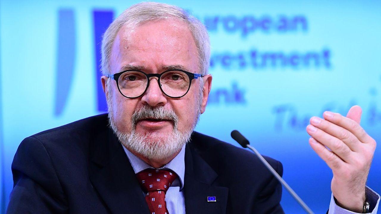 Werner Hoyer est président de la Banque européenne d'investissement depuis 2012.
