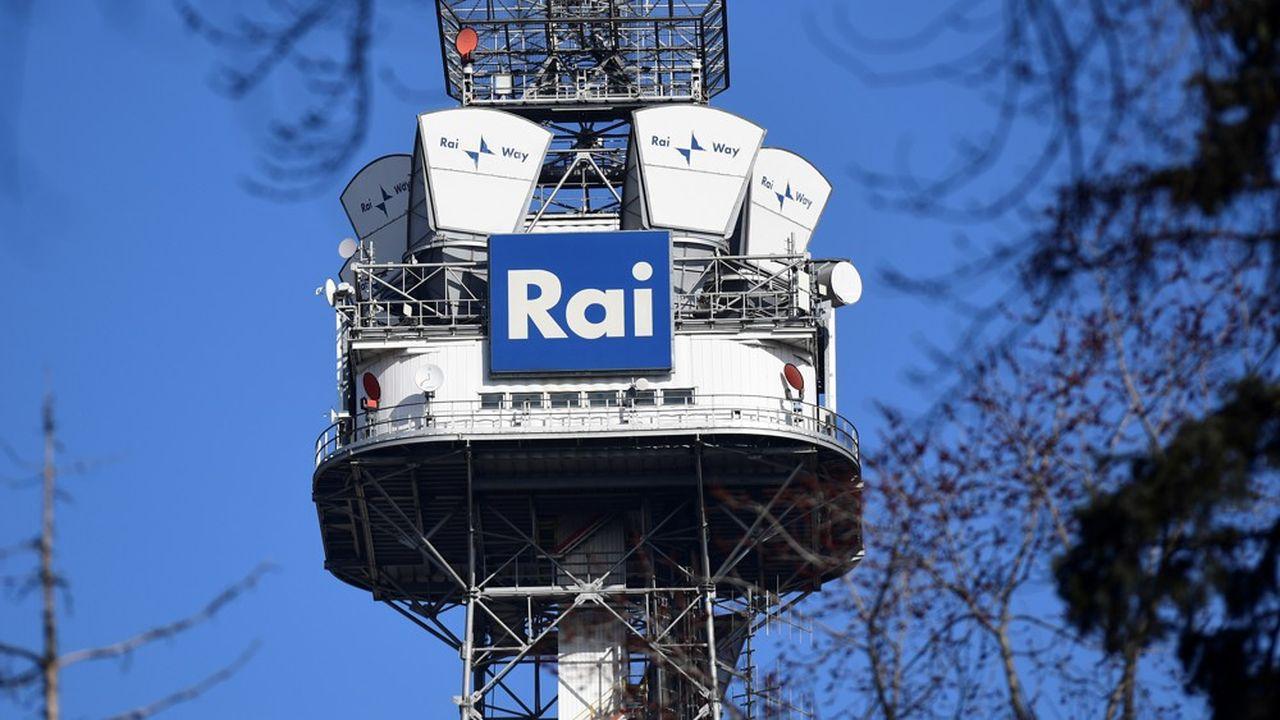 En Italie on regarde la télévision presque sixheures par jour.