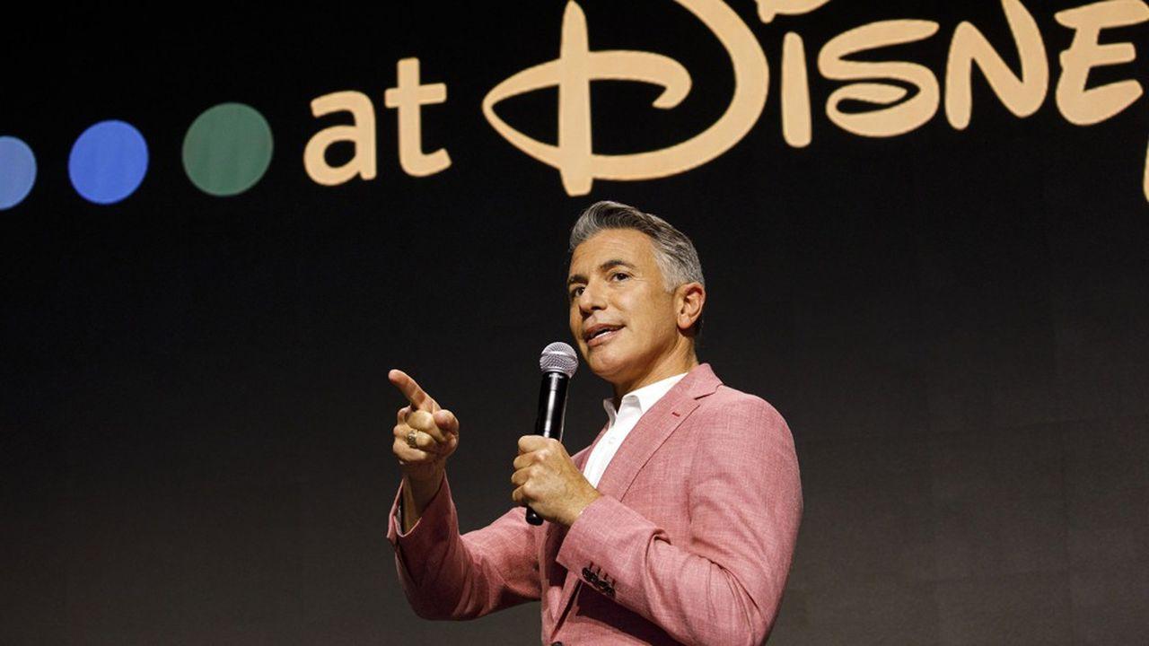 Ricky Strauss, président du contenu et du marketing de Disney+.