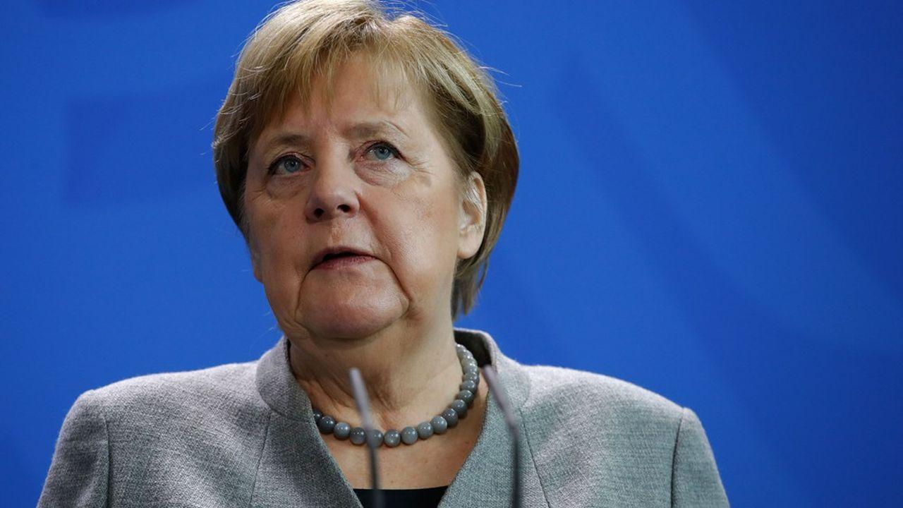 Paradoxalement, la crise du coronavirus a redonné du tonus à la courbe de popularité de la chancelière allemande.