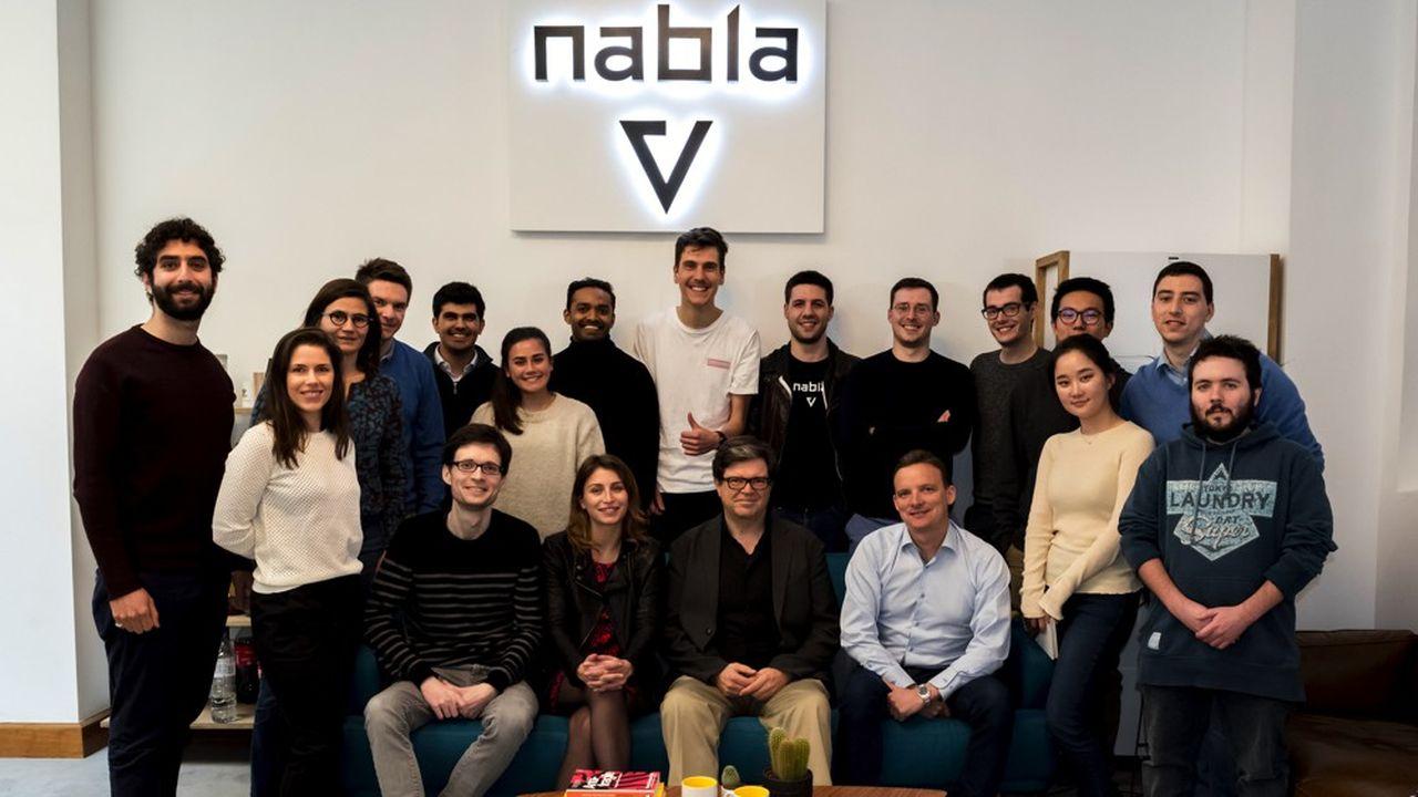 25 personnes travaillent aujourd'hui chez Nabla.