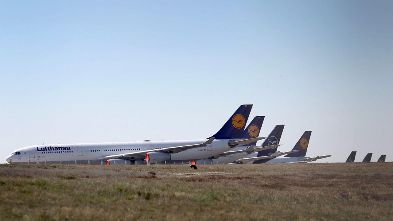 Pour des compagnies telles que Lufthansa, le soutien de l'Etat sera nécessaire pour faire face à l'urgence de la situation.