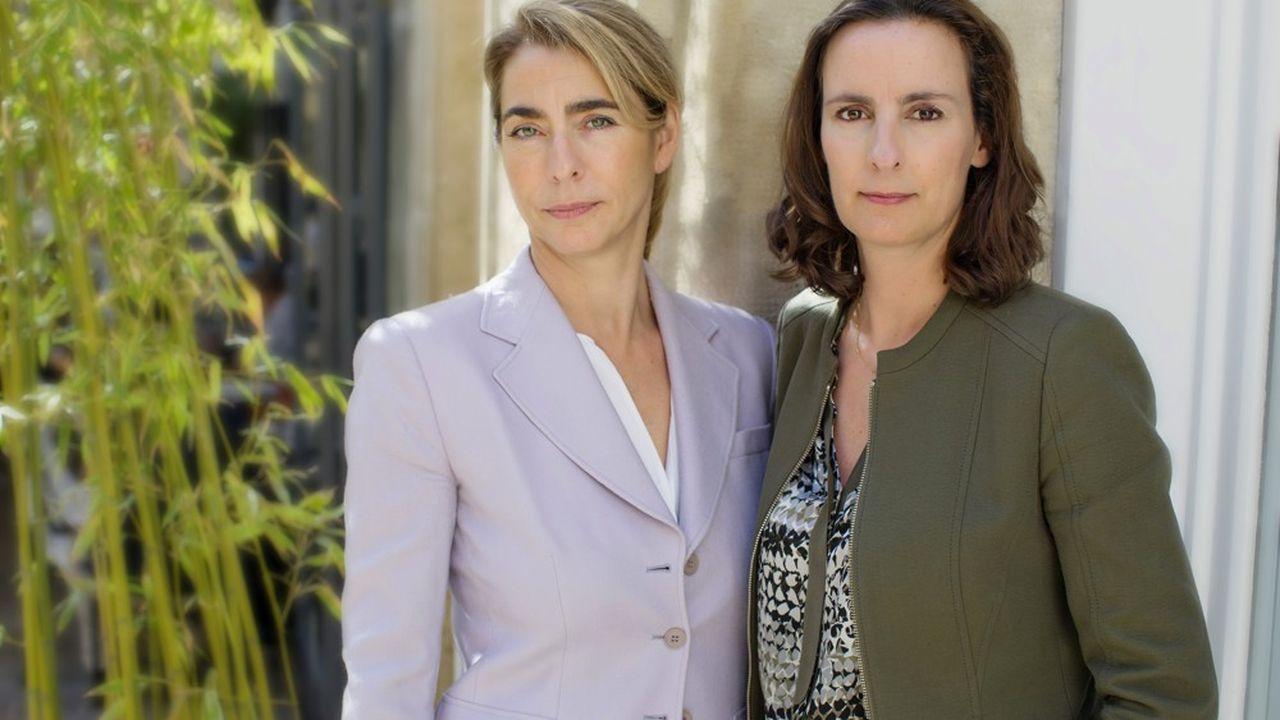 Catherine Berjal et Anne-Sophie d'Andlau ont co-fondé le hedge fund français CIAM en 2010.