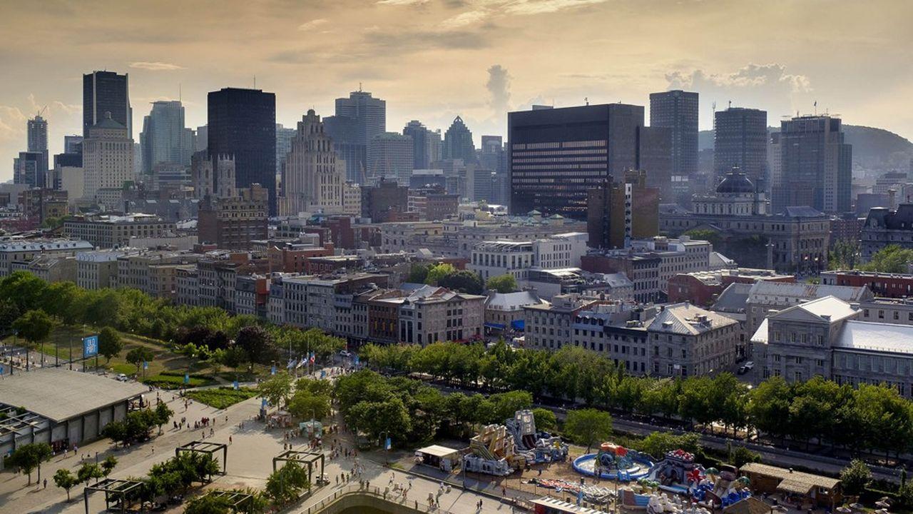 Montréal, la ville la plus peuplée de la province canadienne du Québec, dépend étroitement du commerce international.