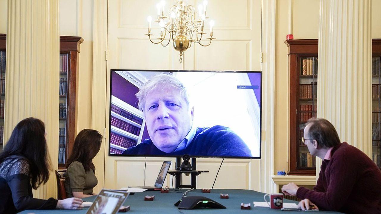 Le 29mars, Boris Johnson contaminé par le coronavirus, était déjà confiné au 10 Downing Street.