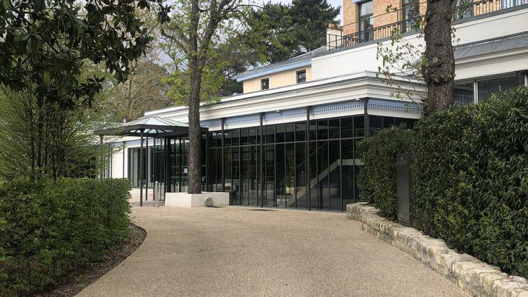 Le Pavillon d'Armenonville, haut lieu de réception, fermé depuis la mi-mars.