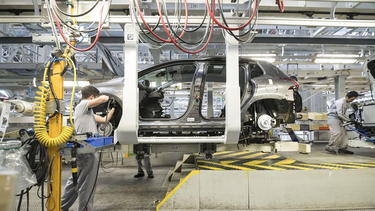 Une grande majorité des 43.000 salariés de PSA dans l'Hexagone est au chômage partiel depuis le 16mars.