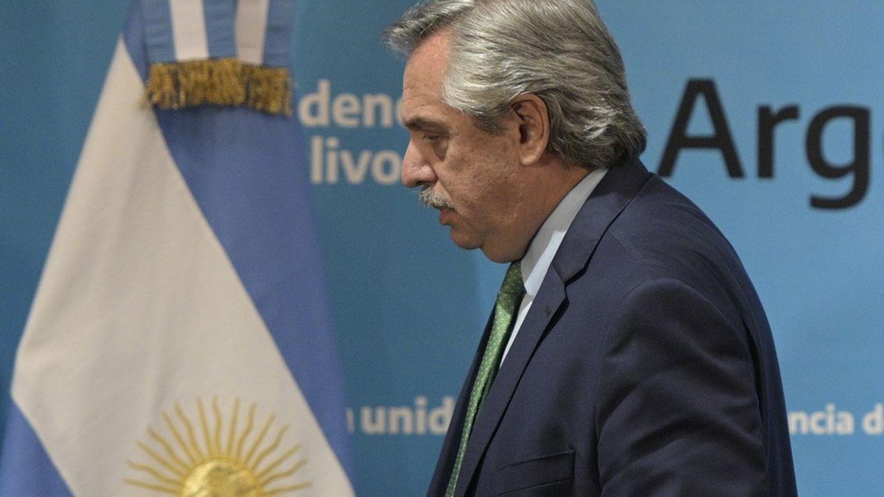 Le président Alberto Fernandez a annoncé lui-même le 19 mars les mesures de confinement pour lutter contre le coronavirus.