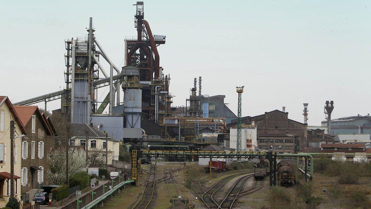 La cokerie de Serémange-Erzange, attenante des hauts fourneaux de Florange (sur la photo), sera arrêtée fin avril au lieu de courant2022.