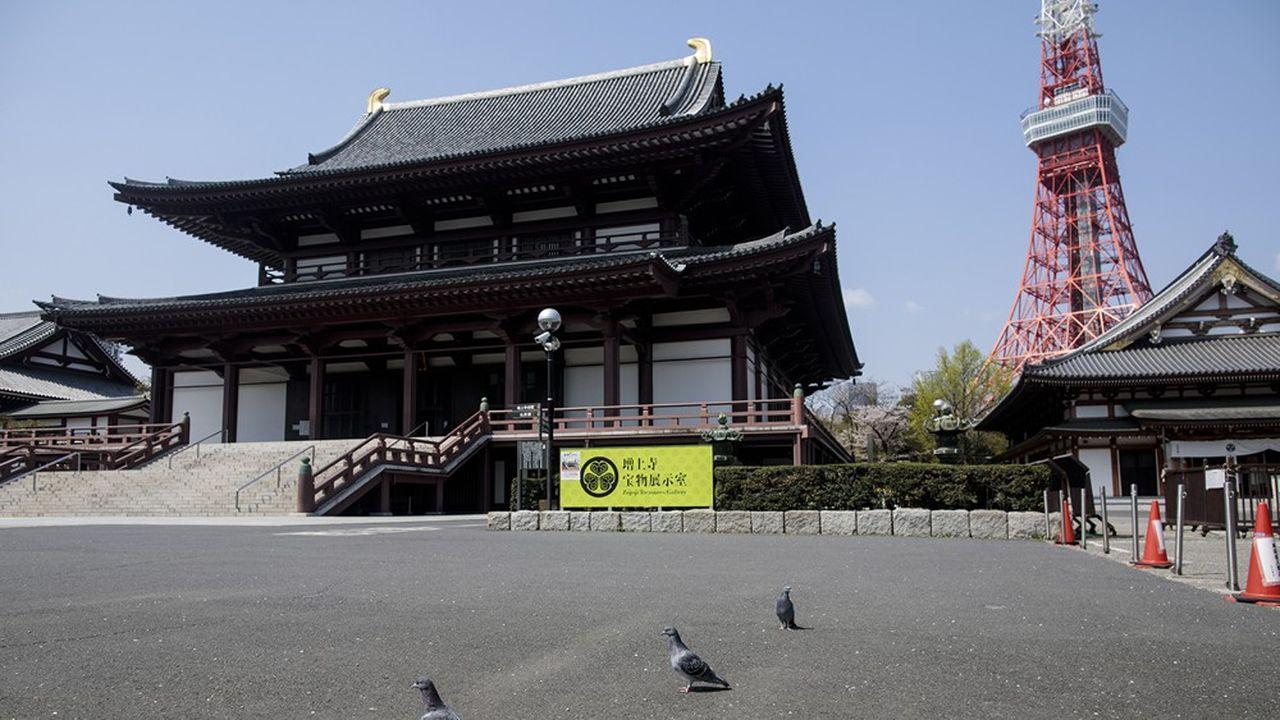 Tokyo et les si préfectures concernées par le confinement regroupent 45% de la population japonaise (photo: dans la capitale).