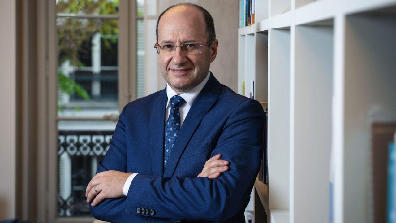 Eric Mertz, président de la Fédération nationale de l'habillement.