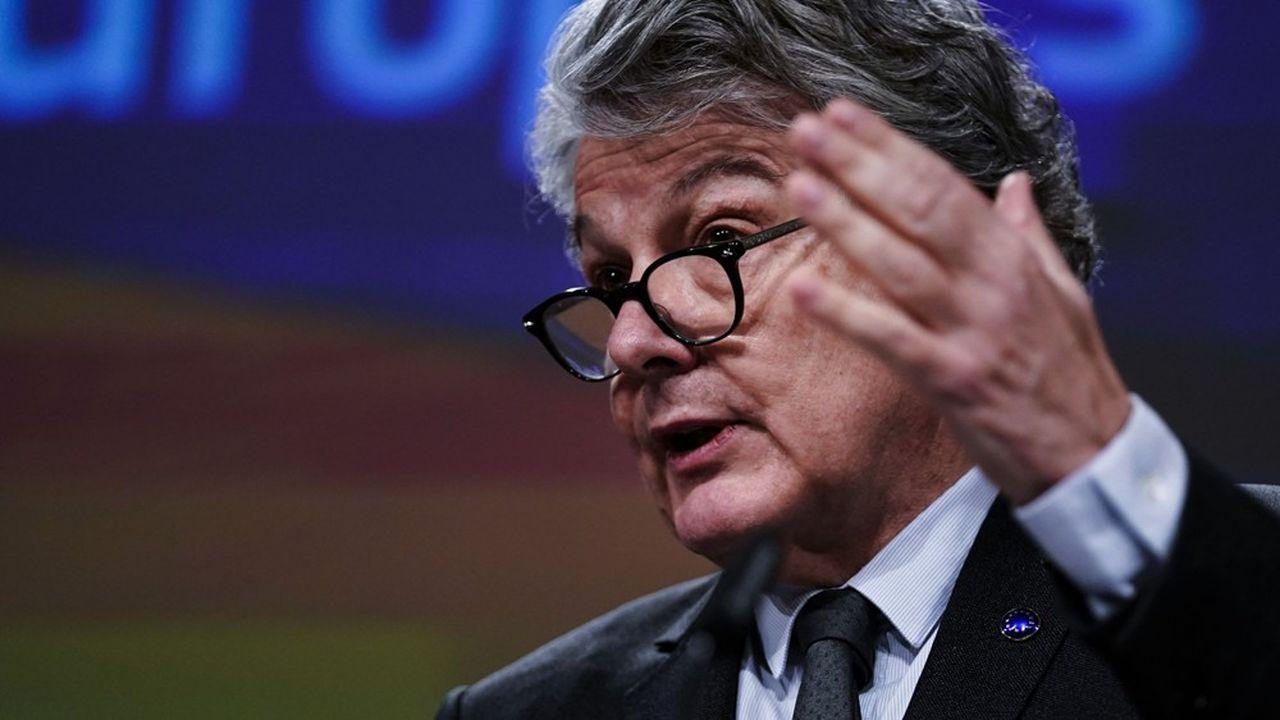 Le commissaire européen Thierry Breton veut que l'Union se dote d'une «boîte à outils» sur les applications de tracking
