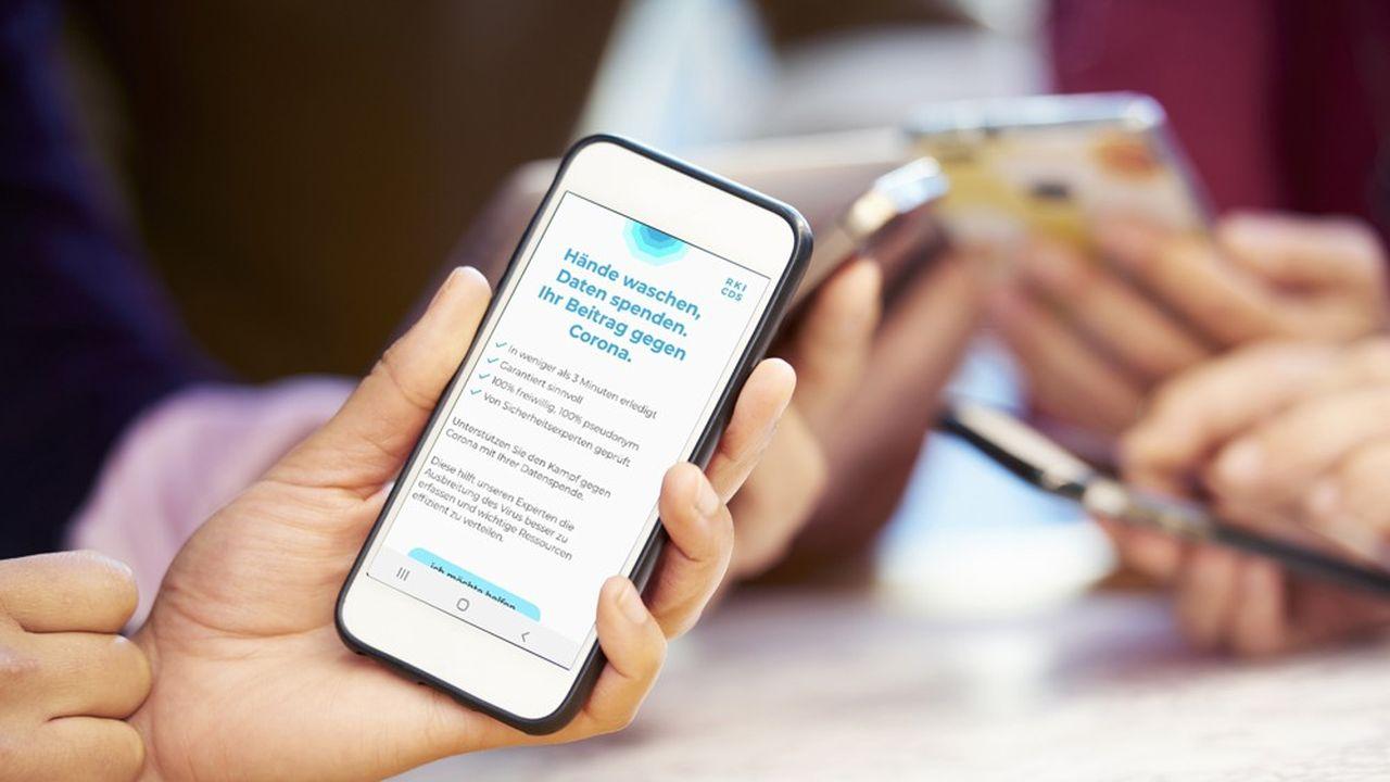 L'institut Robert Koch a lancé le 7avril une application relevant les données de santé des «volontaires» via leur montre connectée ou leur bracelet de fitness.