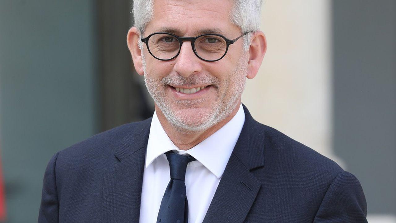 Frédéric Valletoux, le président de Fédération hospitalière de France (FHF).