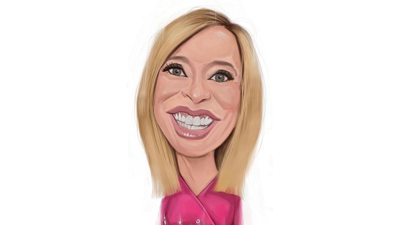 Kayleigh McEnany, caricature par ïoO, pour Les Echos