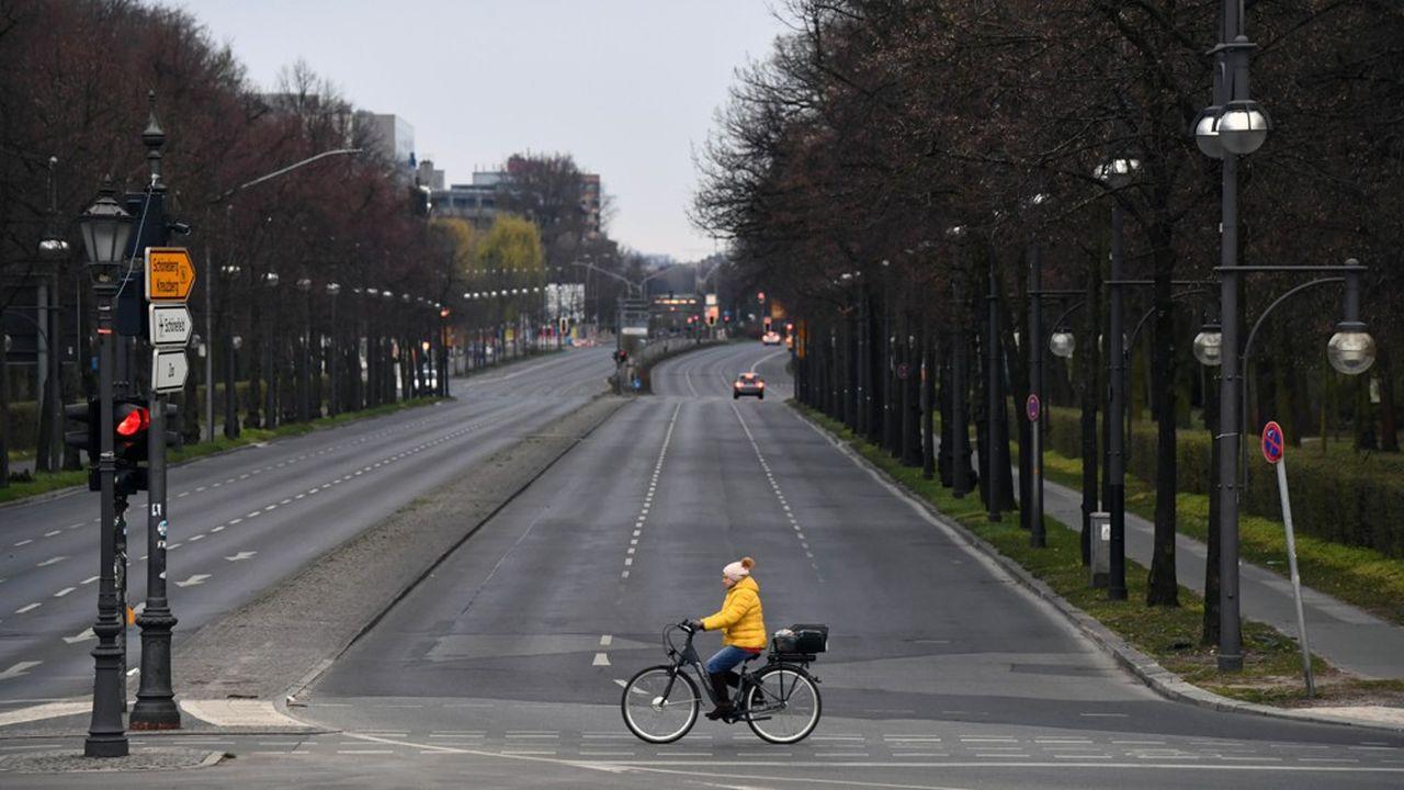L'association des cyclistes allemands, l'ADFC, espère qu'un tiers des «nouveaux» cyclistes du corona resteront en selle après la pandémie REUTERS/Annegret Hilse