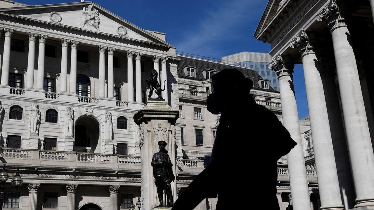 La Banque d'Angleterre, à Londres