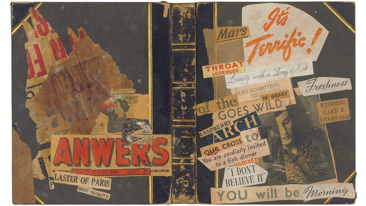 collage Kurt Schwitters (1887-1948) a été adjugé 88 971 euros chez Christie's à Londres en juin 2019