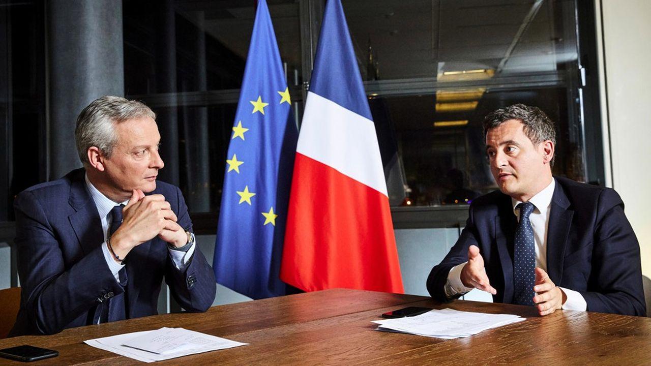 Le projet de loi de Finances rectificative sera présenté mercredi prochain en Conseil des ministres par Bruno Le Maire et Gérald Darmanin.