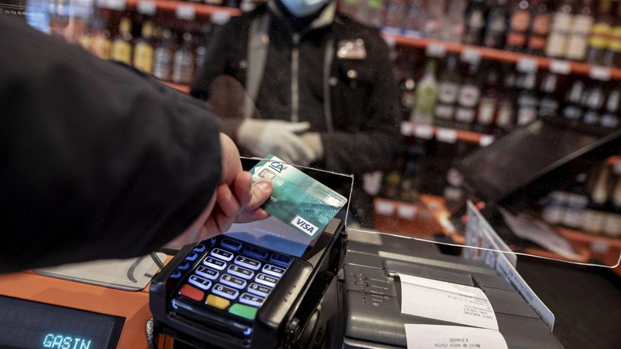 Sur 7milliards de transactions par carte de moins de 30euros, environ 3,3milliards ont été effectués sans contact en 2019.