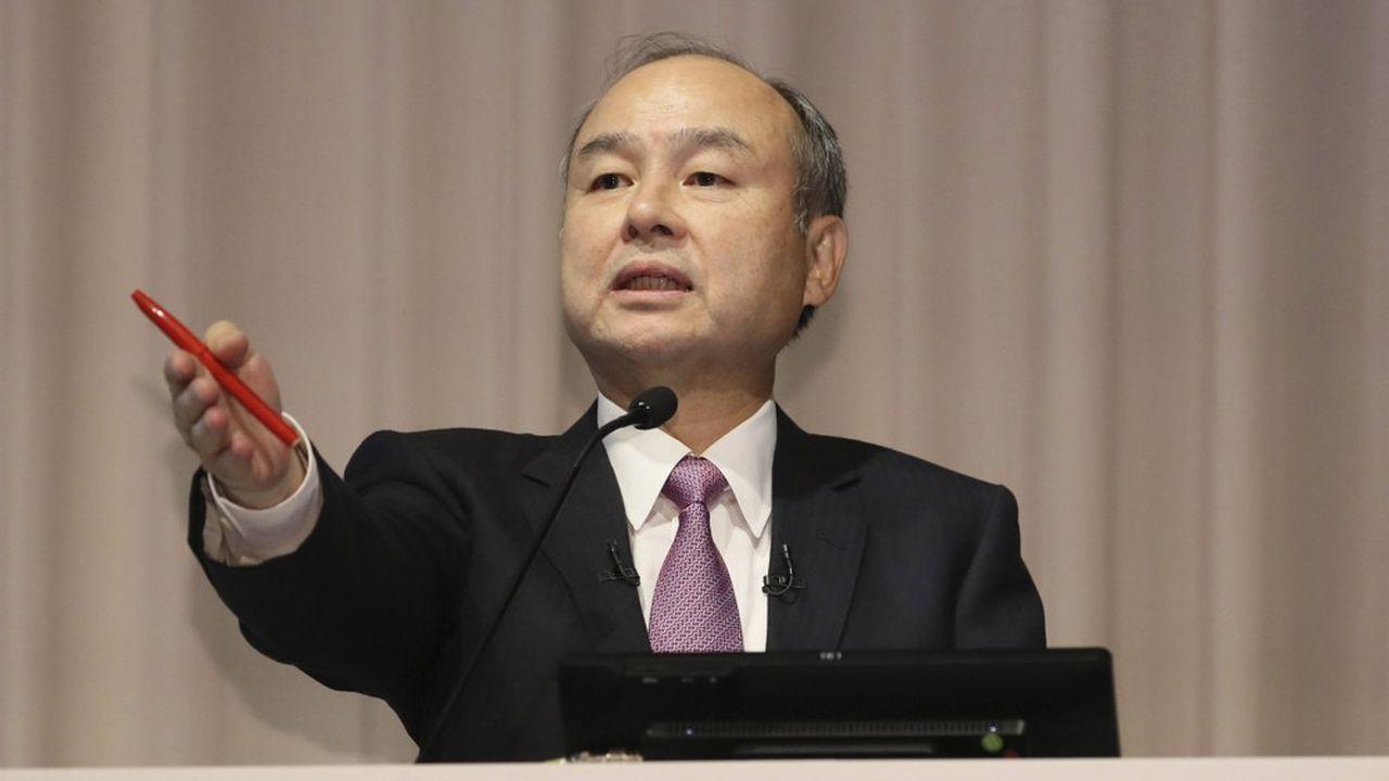 En mars dernier, 60% des actions que détient Masayoshi Son servaient de garantie à ses dettes, contre 48% en juin2019