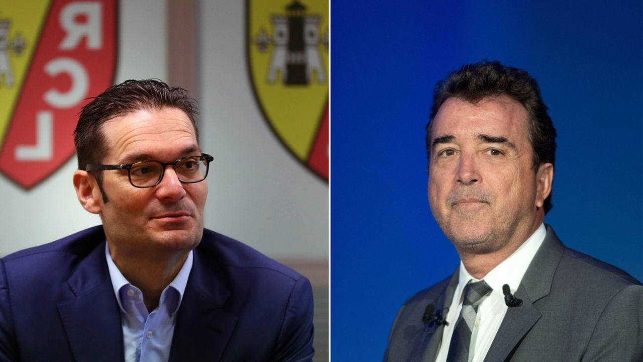 Joseph Oughourlian, fondateur d'Amber, et Arnaud Lagardère, patron de Lagardère.