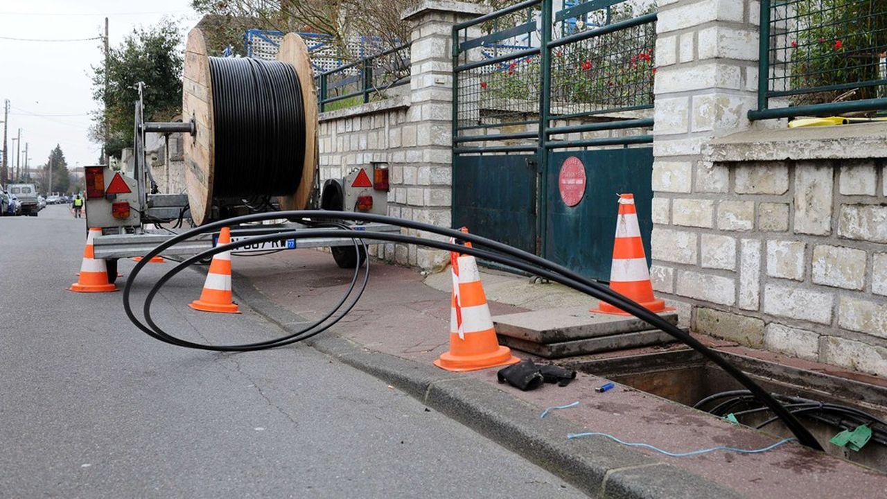 Le confinement a porté un coup brutal aux déploiements de fibre optique.