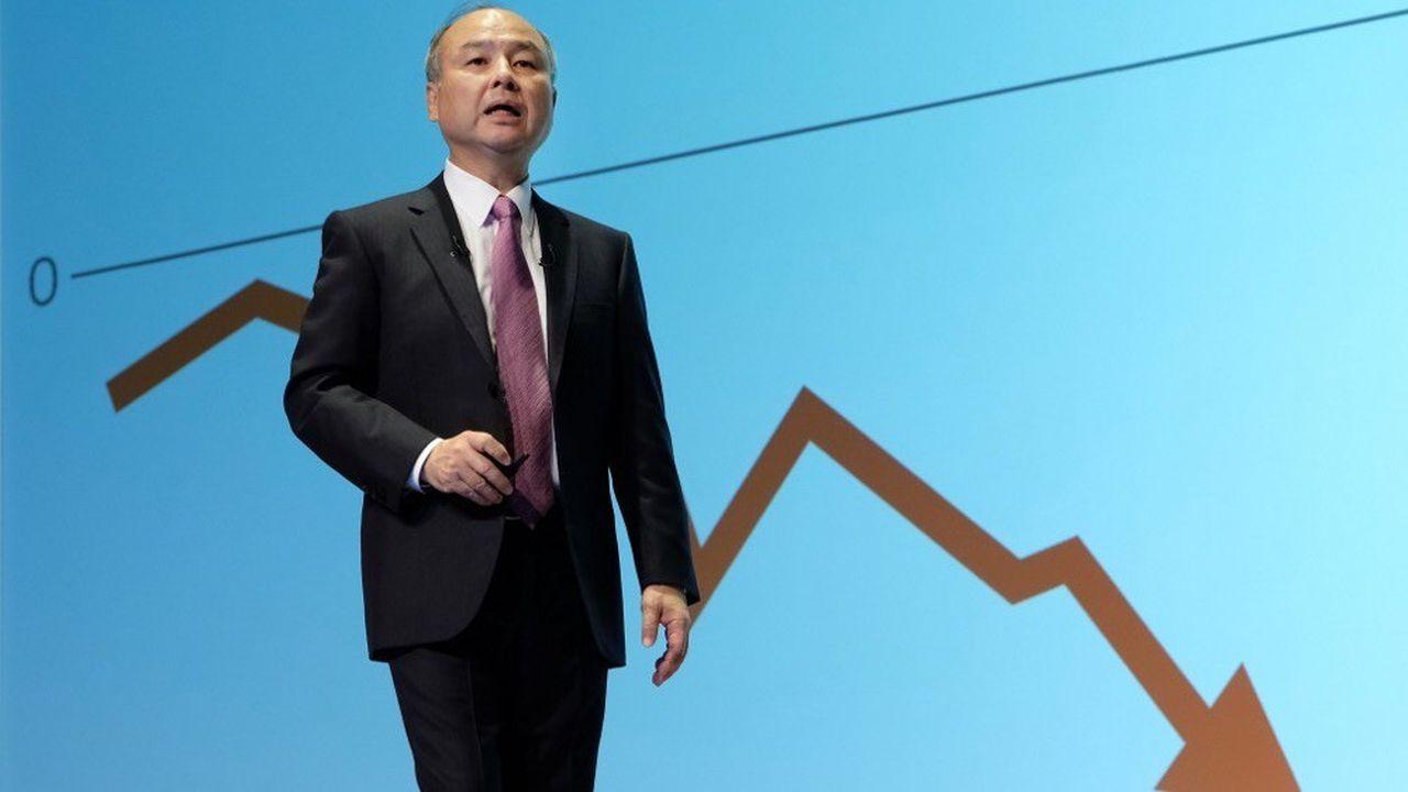 Softbank s'attend à une perte nette de 6,36milliards d'euros.