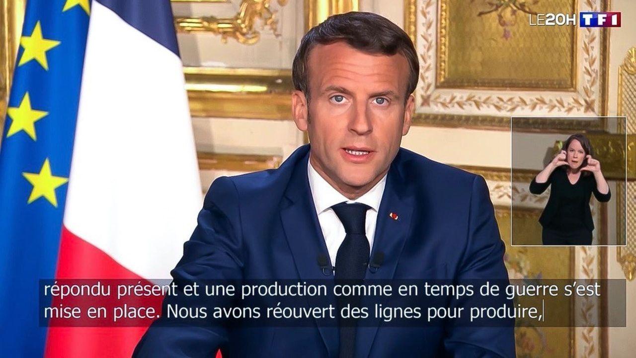 Emmanuel Macron a annoncé lundi soir un prolongement du confinement.