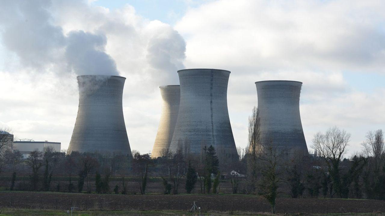 La centrale nucléaire de Bugey, dans l'Ain.