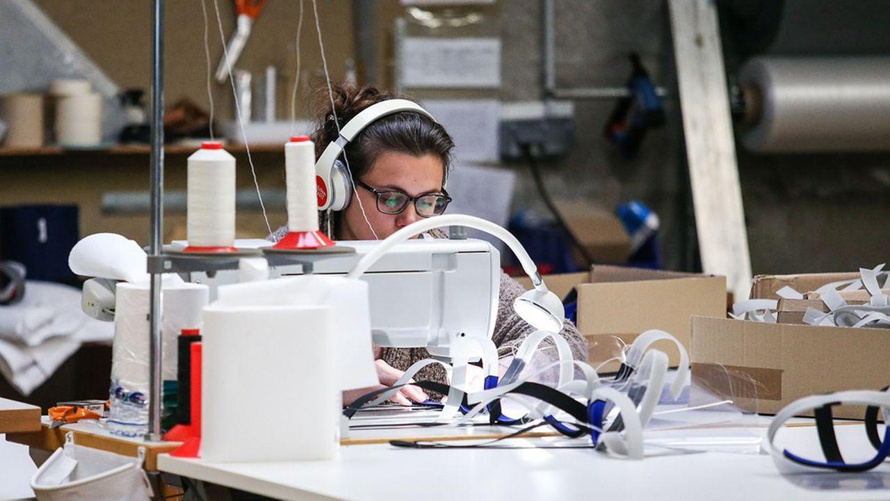 «Les entreprises ont su apporter des solutions concrètes dans un délai record, notamment des usines textiles et des groupes de luxe qui se sont mis à la production de masques pour les soignants»